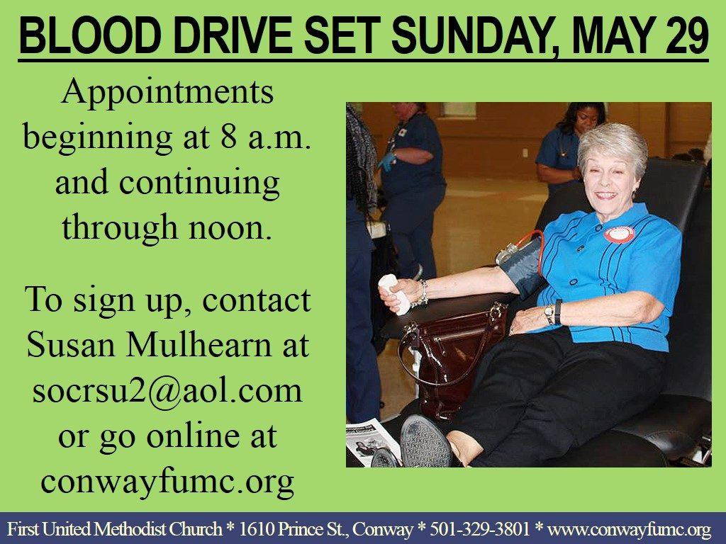 blood drive may 2016