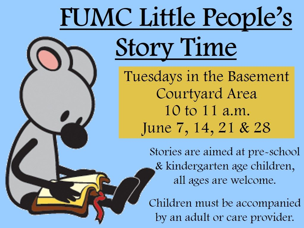 kids storytime summer 2016