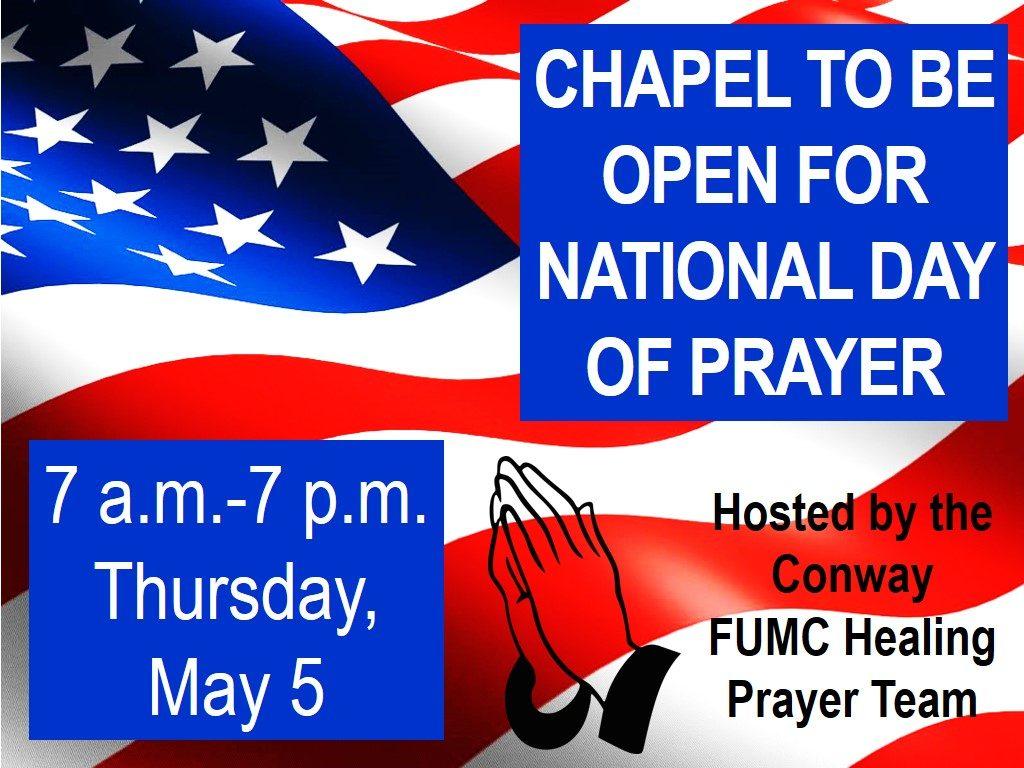 national day of prayer 2016