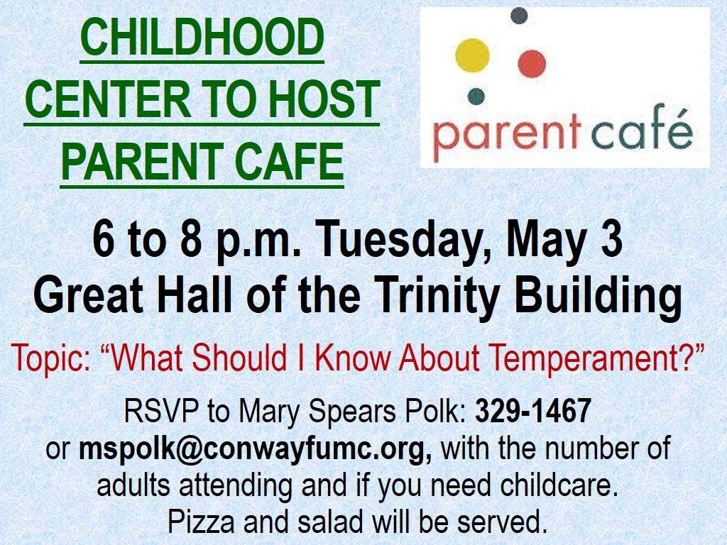 parent cafe may 2016
